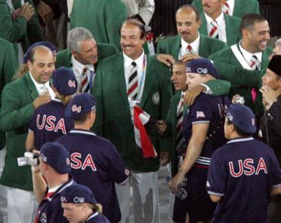 Iraq - US at Olympics