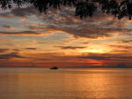 Sunrise at Walindi - KLM Photo