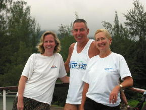 Suzanne, Rob and Rosie - KLM Photo